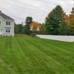 Photo of mow lines in Gorham Maine